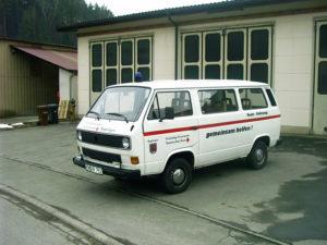Teamfahrzeug VW Transporter