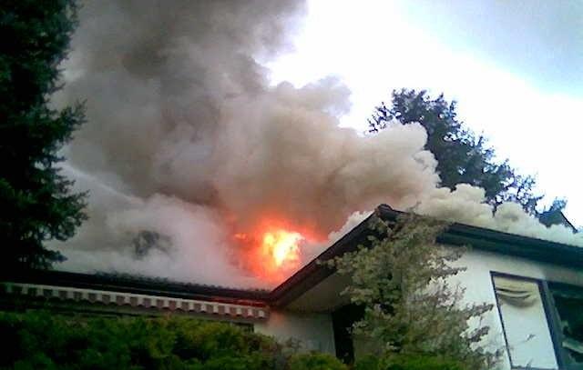 (Bild: Feuerwehr Sipplingen - Brand in der Kogenhalde)